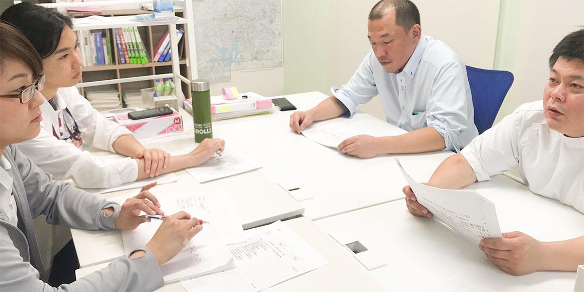 利用者様やご家族の想いを第一に、医学的根拠に基づく評価を実施